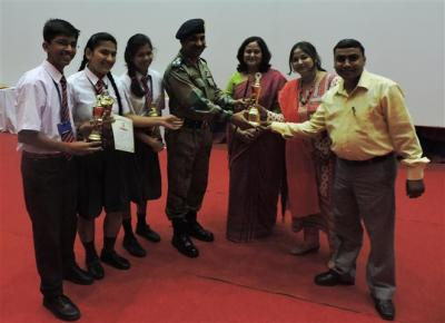 WINNERS HINDI DEBATE APS LBS MARG LUCKNOW